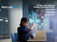 Citi Pan-Asia Regional Investor Conference 2021 (2 June 2021) / UOB NDR (3 June 2021)